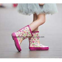 The Princess Series Children Rubber Boots